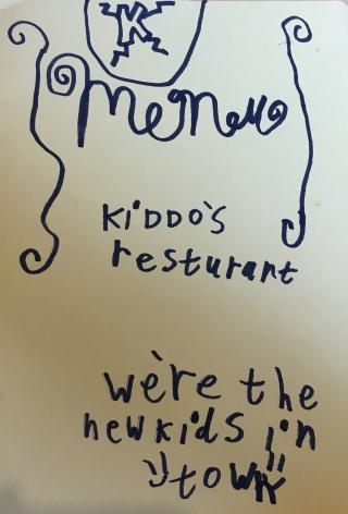 Kids menu 2