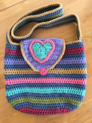 Crochet bag front