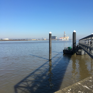 Gravesend in the sunshine