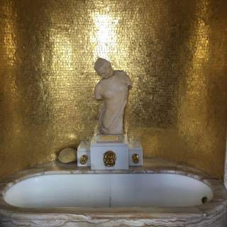 Gold Bathroom Eltham Palace