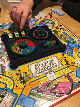Go for Broke Board Game